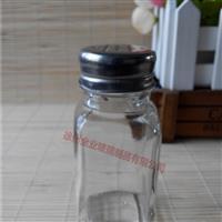 生产四方玻璃瓶胡椒粉瓶椒盐瓶