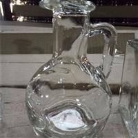 新款出口玻璃瓶小玻璃壶酒壶