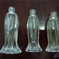 生产高档玻璃瓶鱼型香水瓶