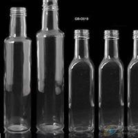 供应玻璃瓶圆形透明橄榄油瓶