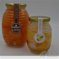 公司直销玻璃瓶螺丝蜂蜜瓶