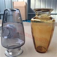 生产透明玻璃花瓶花插摆件