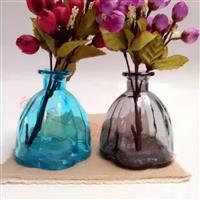 生产各种玻璃花瓶小口南瓜瓶