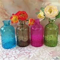 厂家直销新款玻璃花瓶花花器花插