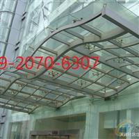 天津玻璃雨棚的安装施工方法