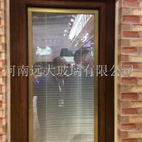 供应河南郑州中空百叶玻璃