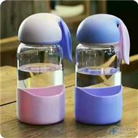 可爱兔子玻璃水杯闺蜜便携水杯