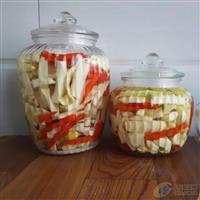 咸菜酸菜玻璃坛子密封罐储物罐