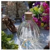 南瓜瓶许愿瓶木塞瓶玻璃瓶漂流瓶