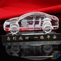 汽车模型 水晶内雕 水晶工艺品