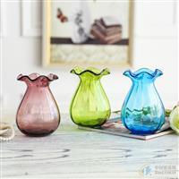 时尚透明玻璃花瓶