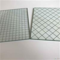 供应夹铁丝玻璃 钢丝玻璃