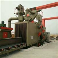 大型通过式抛丸机槽钢处理喷砂机