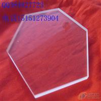 六边形透明石英玻璃片