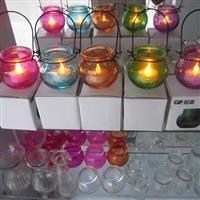 供应各种规格的玻璃烛台