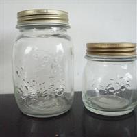 玻璃瓶厂批发定制果酱瓶蜂蜜瓶