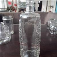 生产玻璃瓶透明白酒瓶