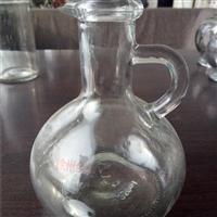 生产出口玻璃小酒壶酒瓶