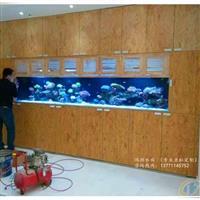 泰州鱼缸定做大型嵌墙式鱼缸