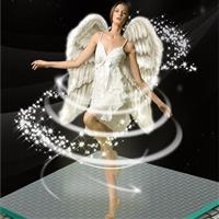 高透防滑玻璃 蒙砂空中玻璃地板