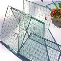 夹铁丝玻璃安全防盗玻璃窗户玻璃