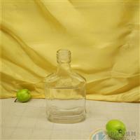 250ml酒瓶小口保健酒瓶扁型