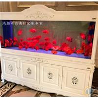 常熟大型鱼缸定做欧式实木水族箱