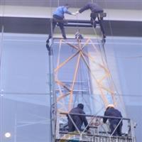 惠城超长超大型落地玻璃安装更换