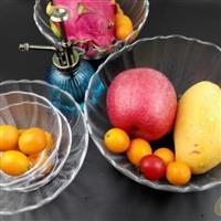 水果玻璃盘