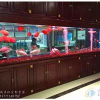 扬州大型鱼缸定做亚克力水族箱