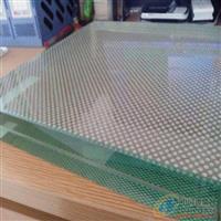 防滑玻璃地板透明钢化玻璃