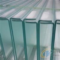 U型玻璃 幕墙玻璃 槽型玻璃