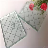 高透夹铁丝玻璃厂家门窗玻璃