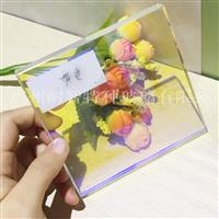 厂家炫彩 幻彩玻璃变色特种玻璃