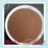 石榴石滤料的鉴别方法