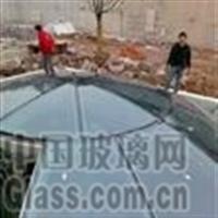 弯钢化双曲面玻璃