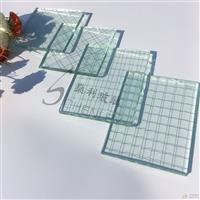 夹铁丝玻璃 高透进口菱形格方型格