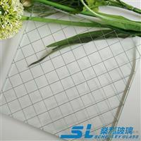 夹铁丝门窗玻璃 高透国产进口夹丝