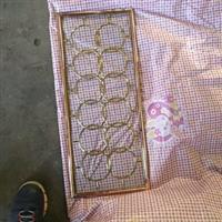 黄金色空框门芯艺术玻璃工厂