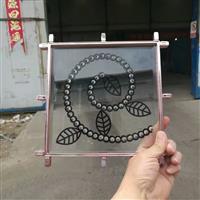 无焊点铜条镶嵌门芯玻璃多种花型