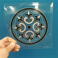 河北沙河厂家门芯玻璃 移门配套贴片玻璃