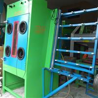 玻璃喷砂机设备 红海立式手动喷砂机