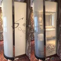 智能调光玻璃膜 淋浴房变色玻璃