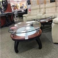 绍兴采购-钢化玻璃桌