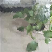 水纹(石头纹)银波纹(贝壳纹)压花艺术玻璃