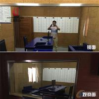 公安局审讯室单向玻璃 辨认室玻璃 单反玻璃