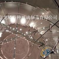 展示厅专用防滑玻璃 防滑楼梯