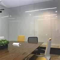 广州调光玻璃厂 电控雾化玻璃 投影调光玻璃