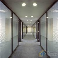 办公玻璃隔断铝型材鑫兴奥达厂家批发