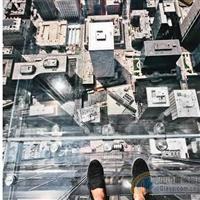 杭州钢化玻璃厂带您看芝加哥较美玻璃观景台